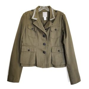 NWT Ralph Lauren Polo Military Jacket Olive Green